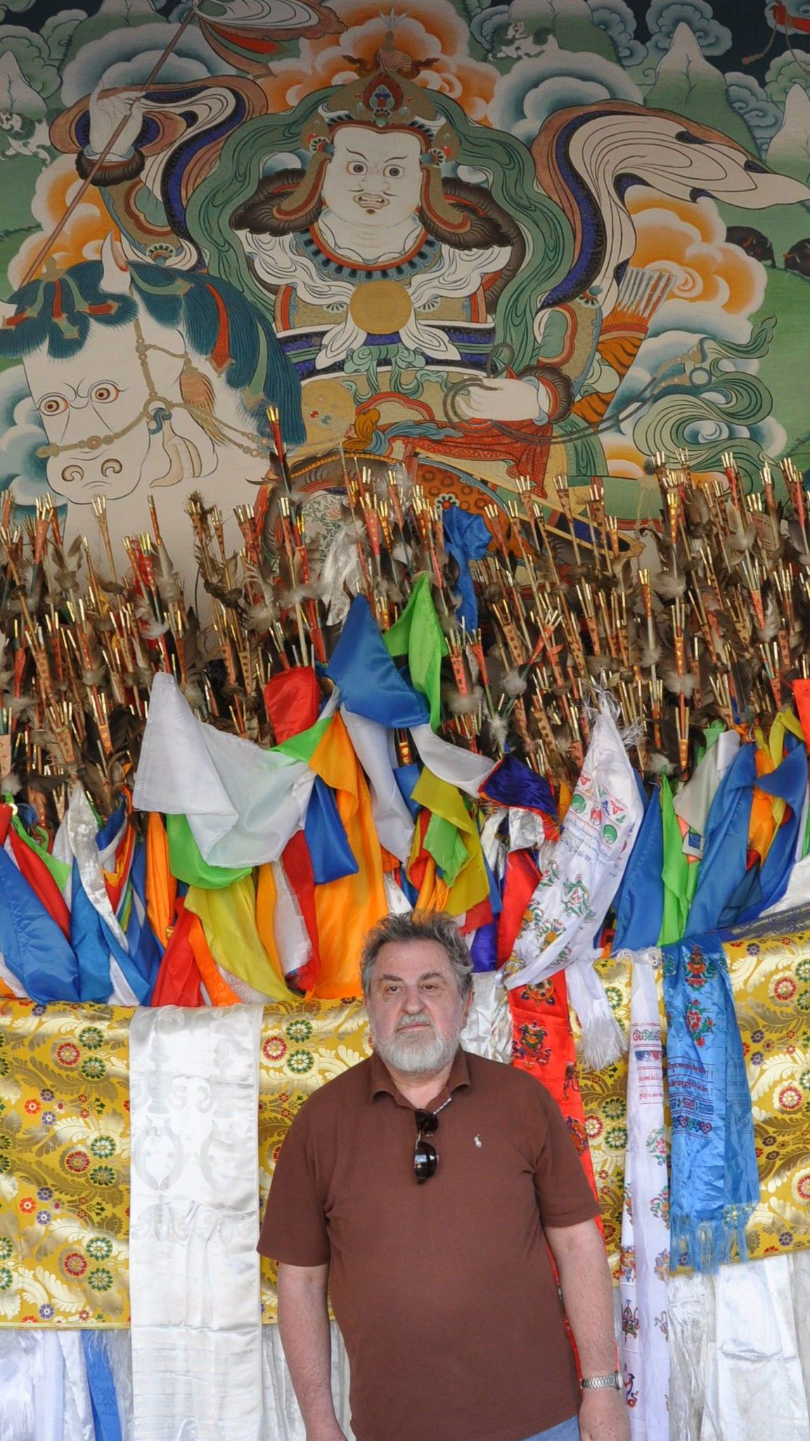 007.Milan Richter at Labrang Monastery