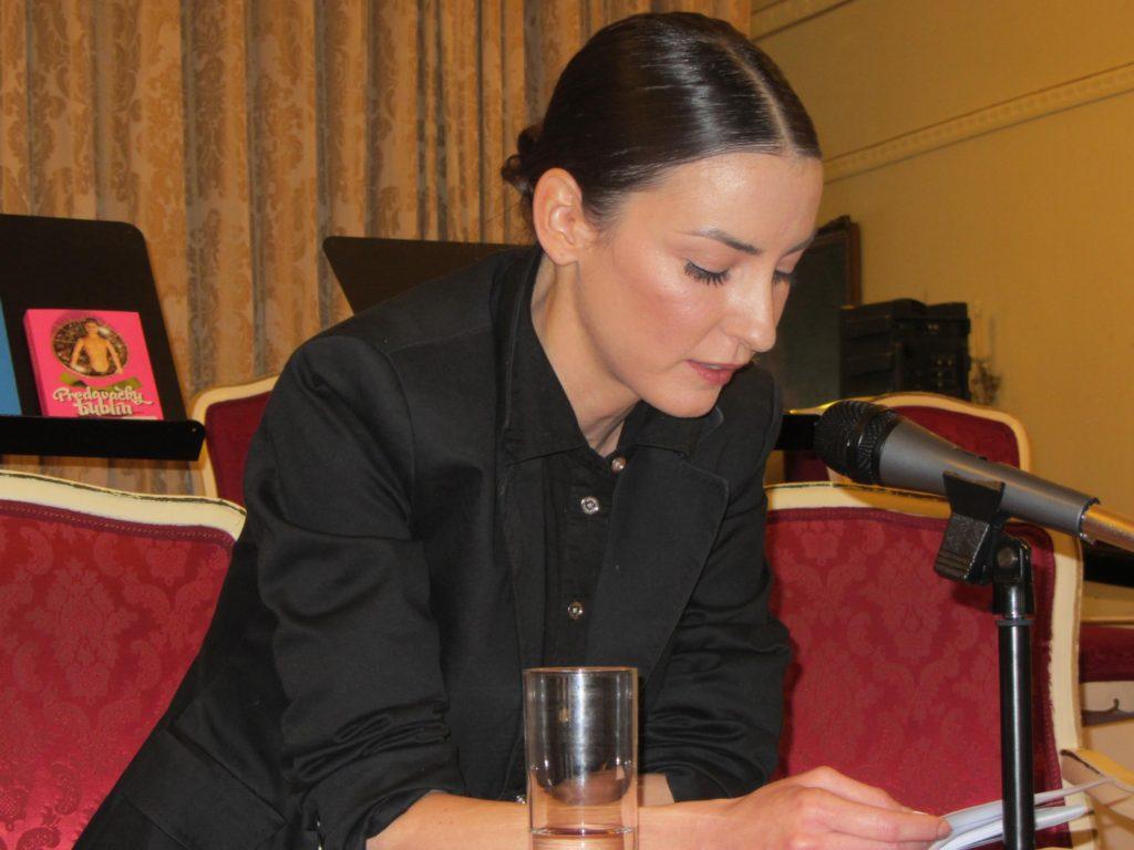 Tamara Heribanová Viedeň čítačka