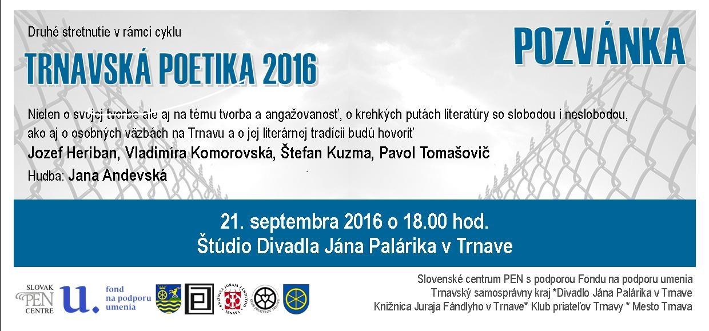 Pozvánka_Trnavská poetika_ 21.09.2016