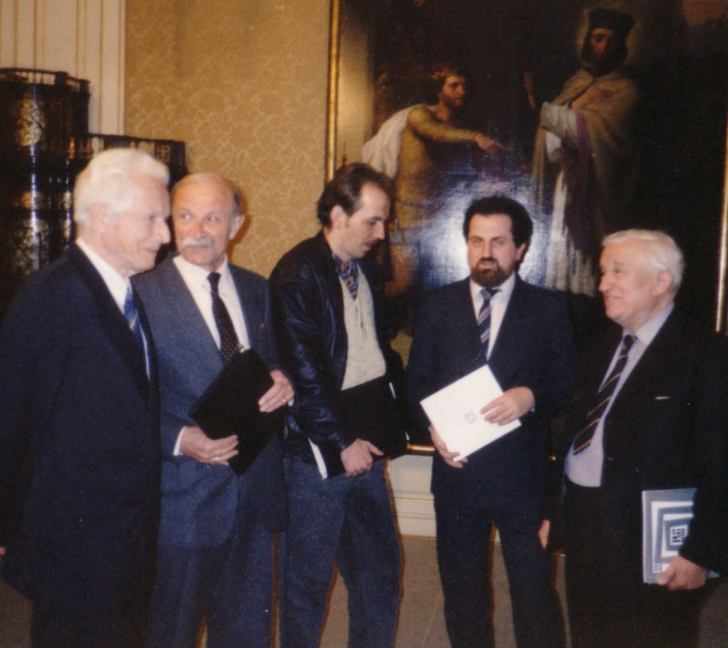 Boor, Bančej, Vogel, Terray a MR vo Viedni.1991