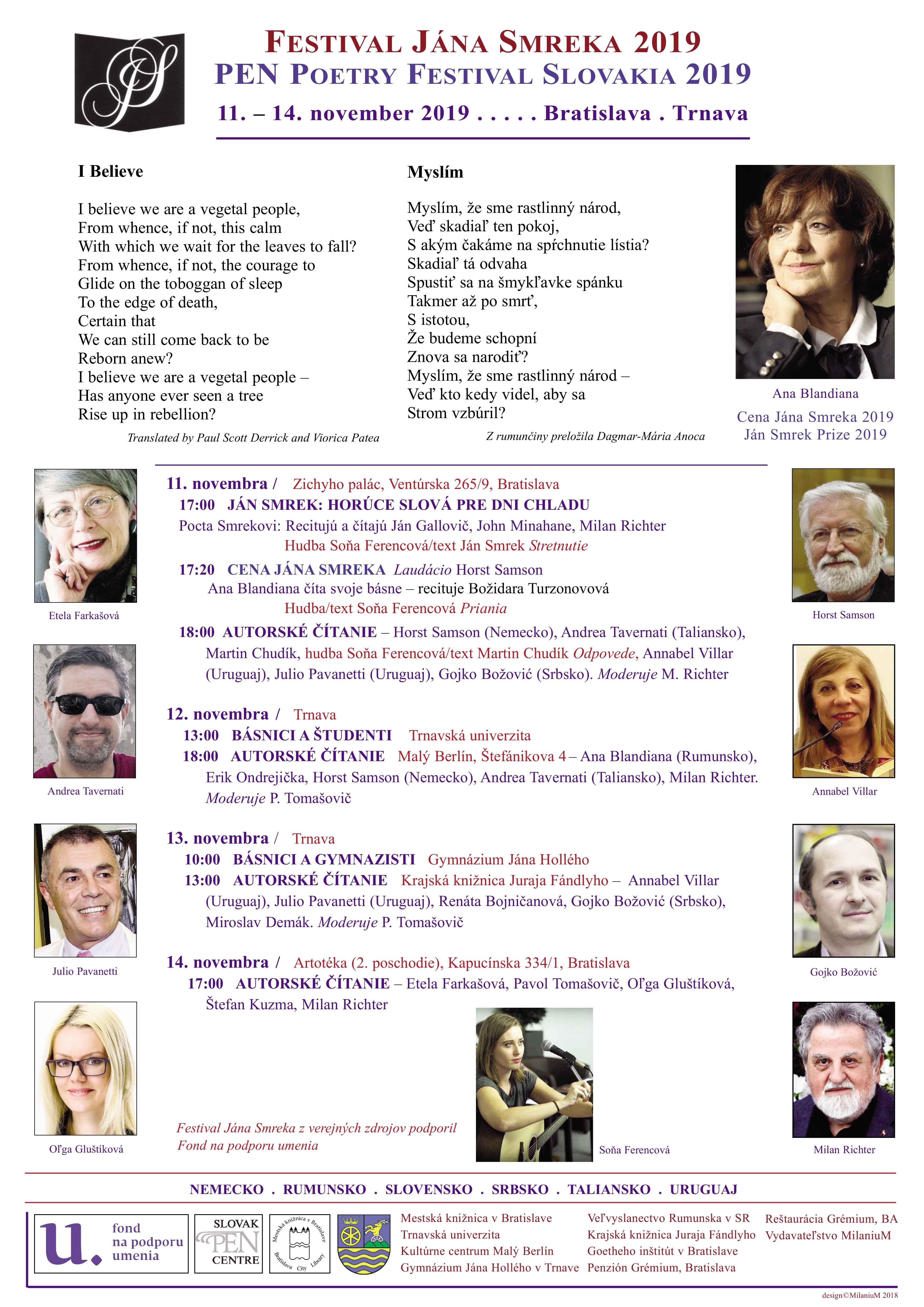 Plagát Festival Jána Smreka 06 defin.qxd